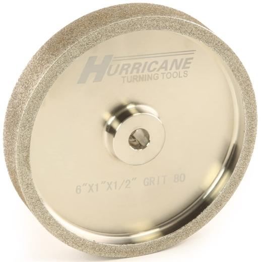 "Bánh mài CBN Hurricane 6"" 80 Grit, 1.0"" Wide, 1/2"" Bore"