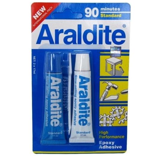 Keo dán Araldite tiêu chuẩn 90 phút 15ml