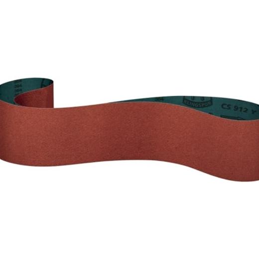 Nhám vải Klingspor hạt ceramic đánh bóng inox CS 912 Y, CS 910 Y, CS 905 Y đai 100x1500 mm