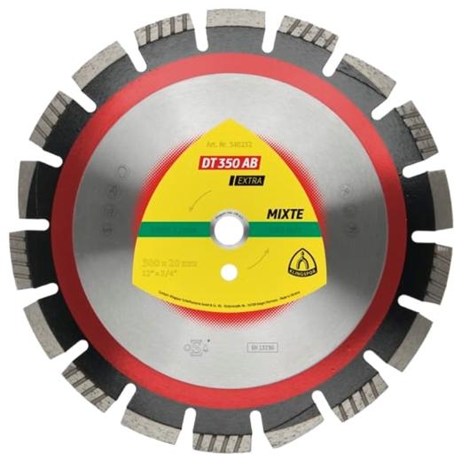 Đĩa kim cương cắt bê tông, nhựa đường Klingspor DT 350 AB Extra