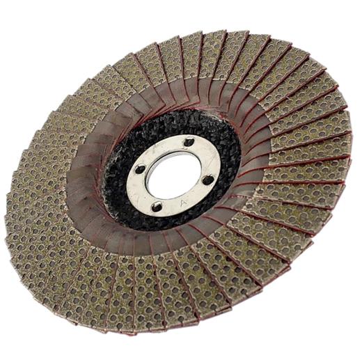 Đĩa nhám xếp lá kim cương dẻo các độ hạt 60 - 400 kích thước 100x16