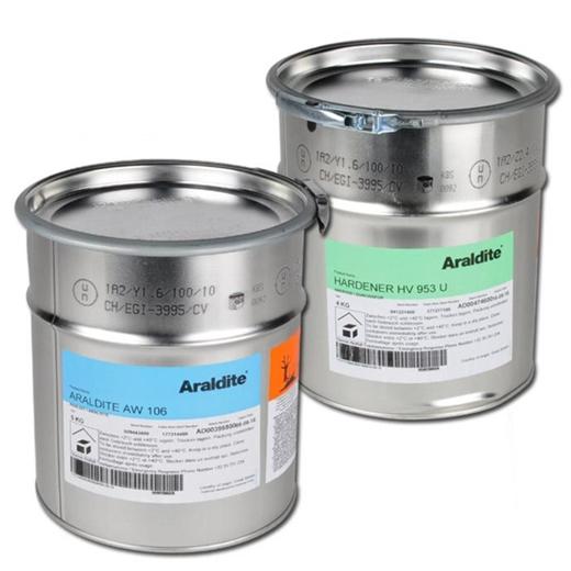 Keo Epoxy hai thành phần hiệu Araldite AW 106 HV 953 U