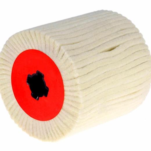 Nhám trục trắng lông cừu 120x100x19 mm