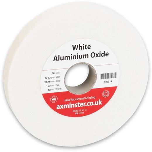 Bánh mài màu trắng Axminster - 150mm