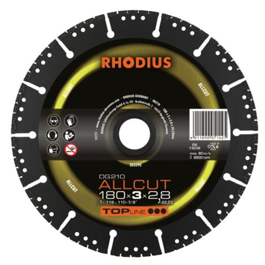 Đĩa cắt kim cương Rhodius 125 x 3 x 22.24
