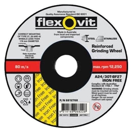 Đá cắt Flexovit FH38 100 x 2.5 x 16