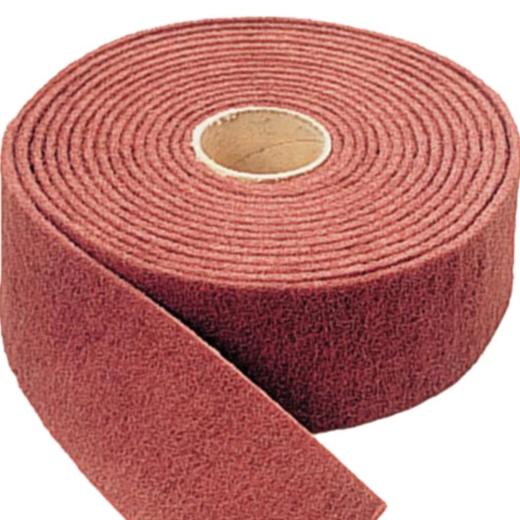 Cuộn nhám bùi nhùi đỏ Maroon hiệu SIS 100x23000 mm