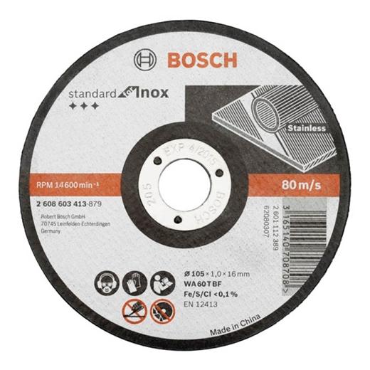Đá cắt Bosch cho Inox MECOWT01001 125 x 1 x 22.23